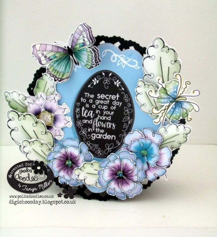 What I Created Next: Polkadoodles Show - Create & Craft 1pm - Lavender Tea