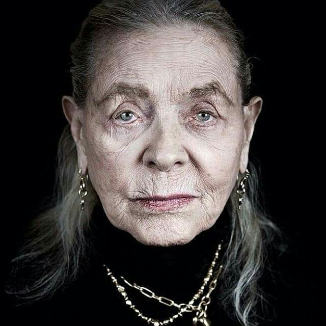 """""""I think your whole life shows in your face and you should be proud of that."""" –Lauren Bacall"""
