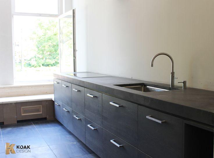 Vloer keuken betonnen - Moderne apparaten ...