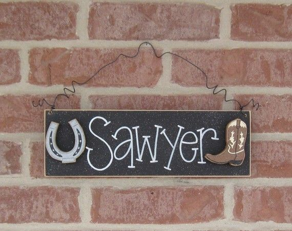 CUSTOM PERSONALIZED Name or Word SIGN for children by lisabees