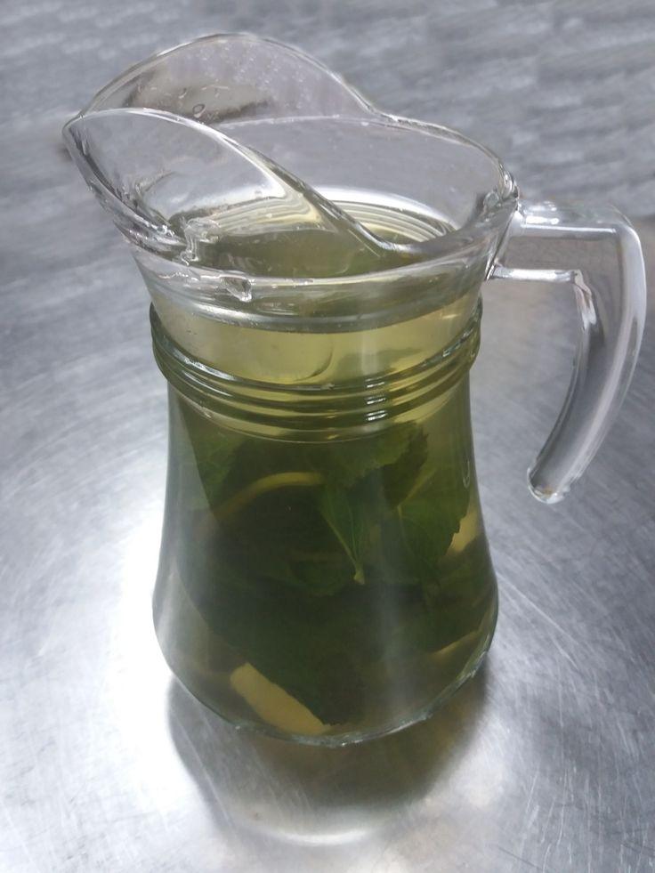 Chá de Hortelã, Gengibre e Limão