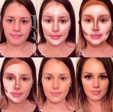 maquillaje para cara alargada bonitas