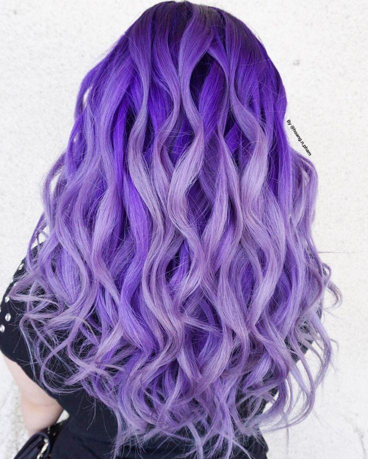 Best 25+ Purple hair colors ideas on Pinterest | Purple ...