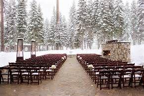 Lake Tahoe Winter Wedding, Winter Wedding Ceremony, The Ritz-Carlton Lake Tahoe
