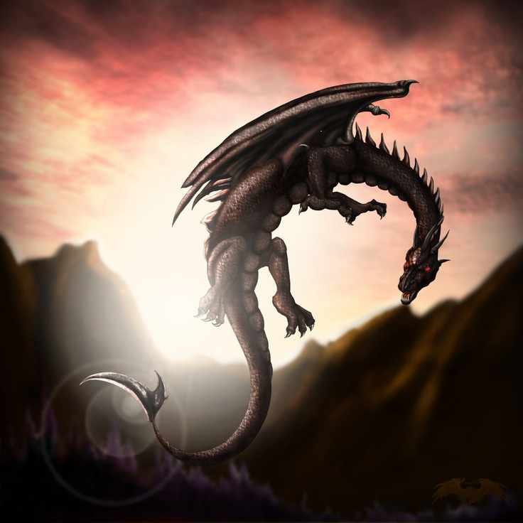 This is a decent dragon for a tattoo but I want something more realistic and this ones stomach doesn't look quite right.