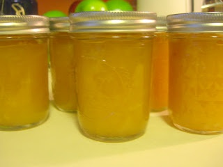 Canning Pear Honey