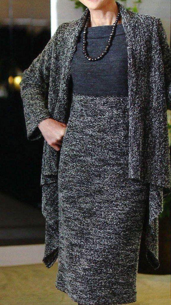 Платье-труба и кардиган.<br>#простыевыкройки #простыевещи #шитье #платьетруба #кардиган #выкройка