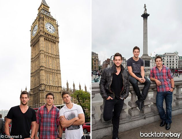 Home and Away, 'The River Boys take on London' episodes!