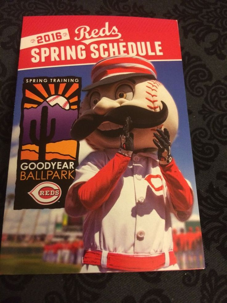 cincinnati reds spring training 2016