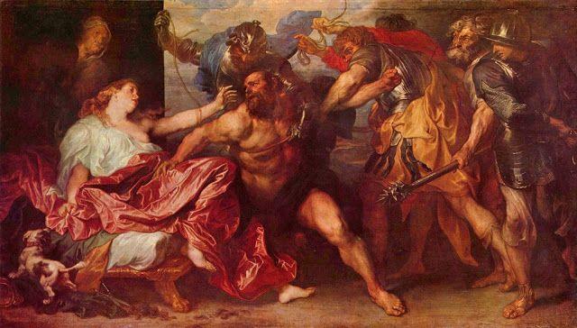Σαμψών και Δαλιδά (1630)