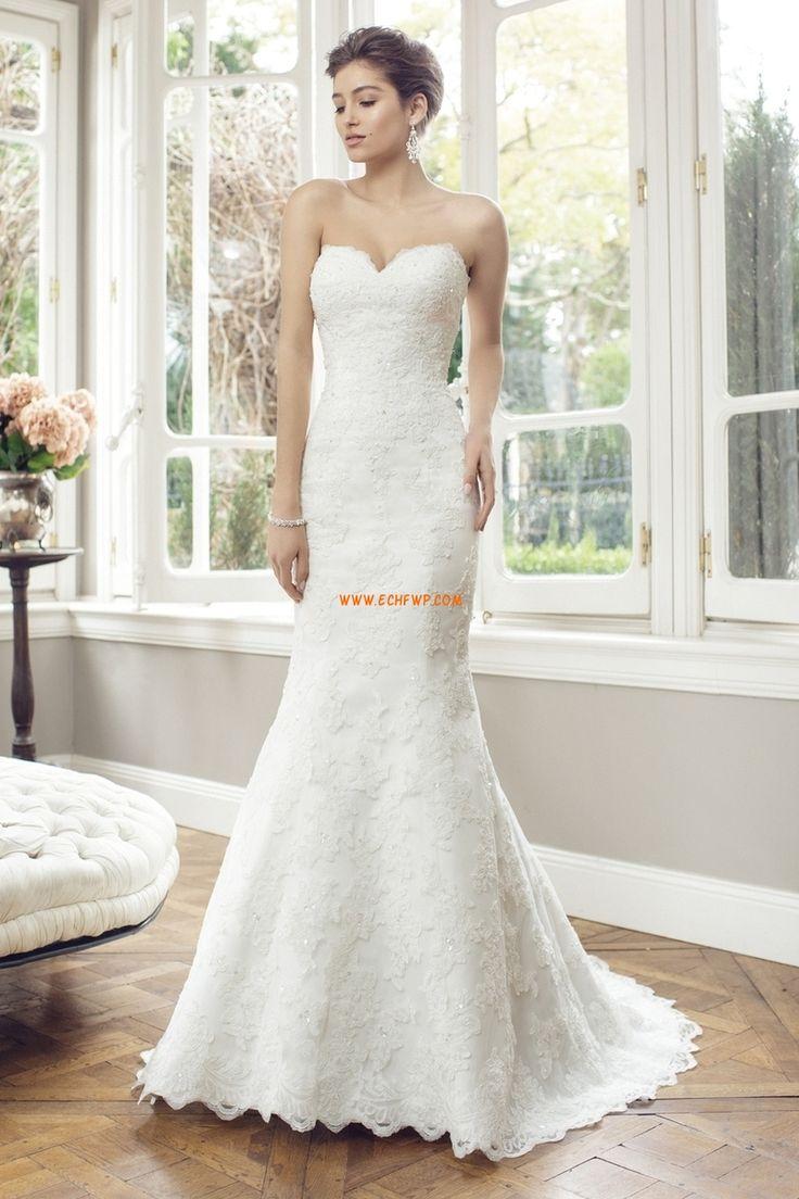 Kostel Áčkový střih Srdíčko Luxusní svatební šaty