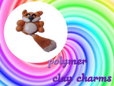 Polymer clay charms tutorial fox / Jak zrobić lisa z modeliny ?