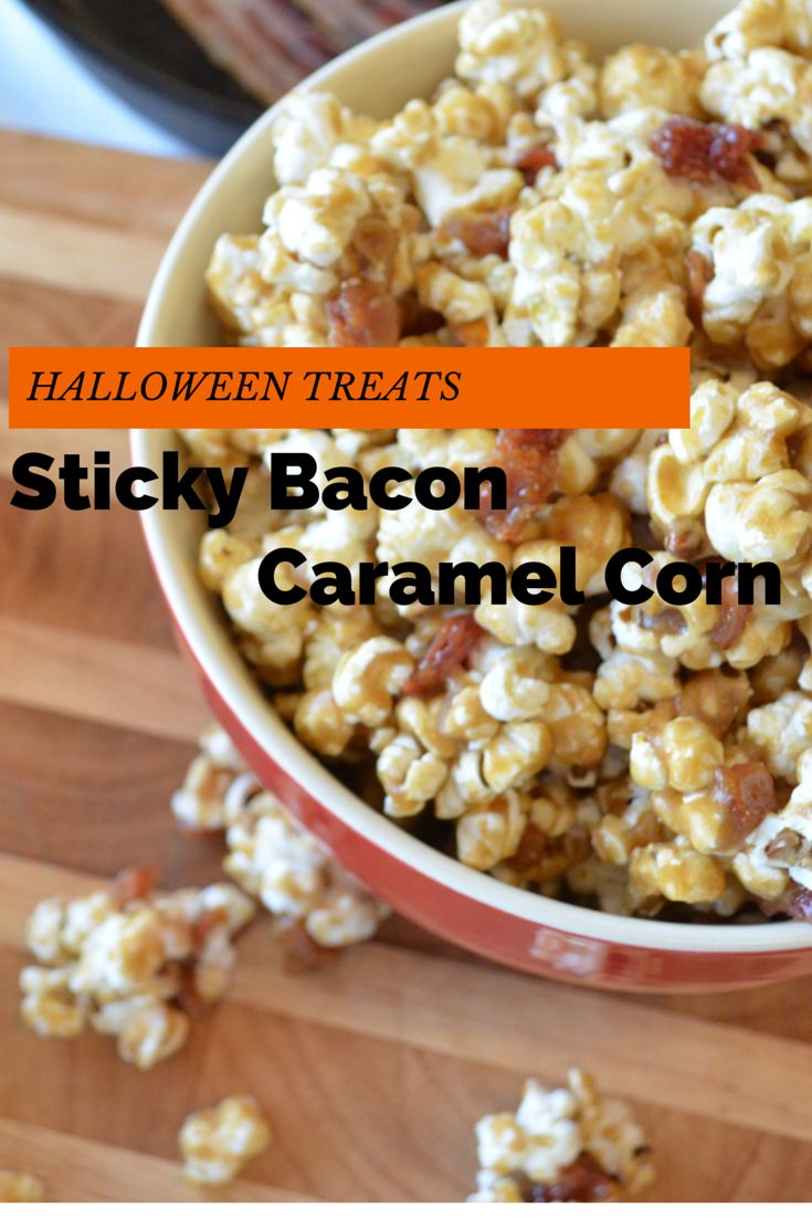 Nothing says Halloween quite like caramel corn. Easy to make and completely delicious, this caramel corn is chewy, salty, and sweet-- the perfect trifecta!