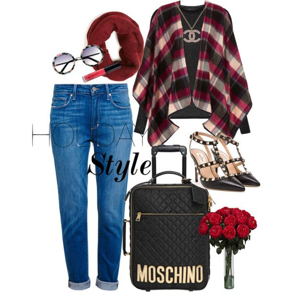 yasumi! by lelymareta on Polyvore featuring BCBGMAXAZRIA, Topshop, Paige Denim, Valentino, Moschino and Chanel
