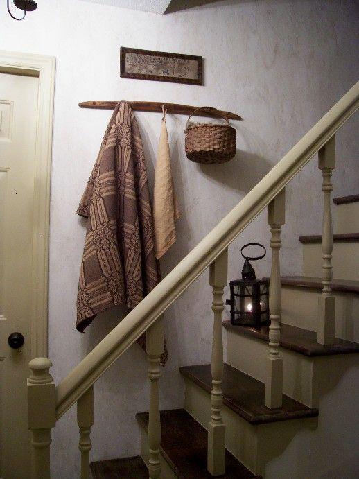 20 best prim steps images on Pinterest   Stairs, Primitive ...