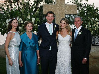 George W. Bush family, 2008