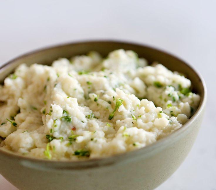 Mashed Potatoes with Broccoli