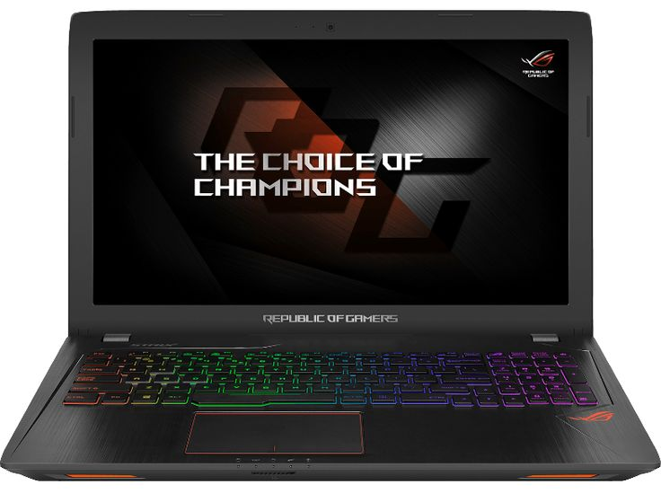 génial ASUS PC portable gamer ROG Strix GL553VD Intel Core i7-7700HQ (GL553VD-FY010T-BE) chez Media Markt