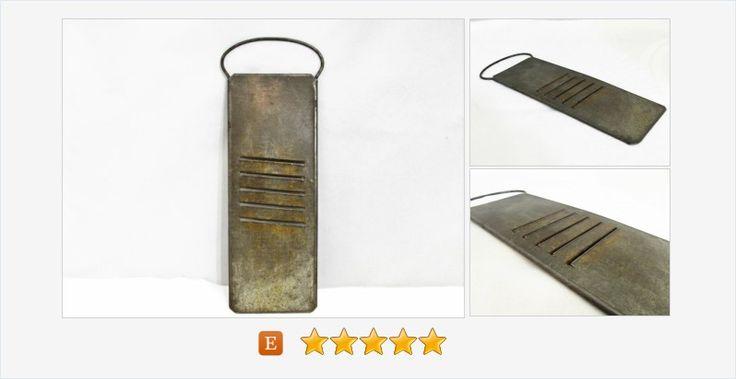 #Metal Food #Slicer #Grater #gotvintage #etsy #primitive #rustic #vintage