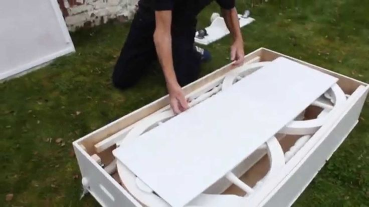 How to assemble Craftsman Built Collapsible Candy Cart for weddings, par...