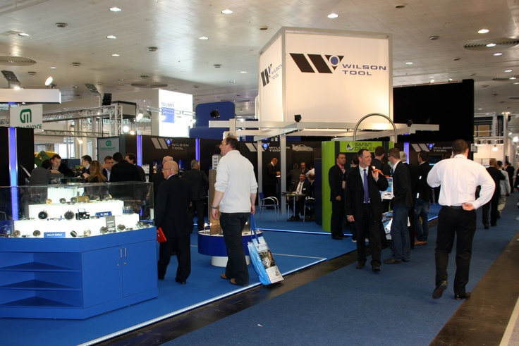 Wilson Tool stand at EuroBlech 2012