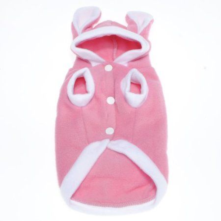 Rabbit Puppy Pet Dog Cat Hoodie Apparel Costume Clothes Plush,Asian size: Amazon.co.uk: Pet Supplies