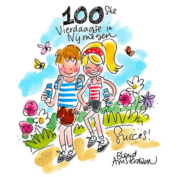 100ste Vierdaagse in Nijmegen by Blond-Amsterdam
