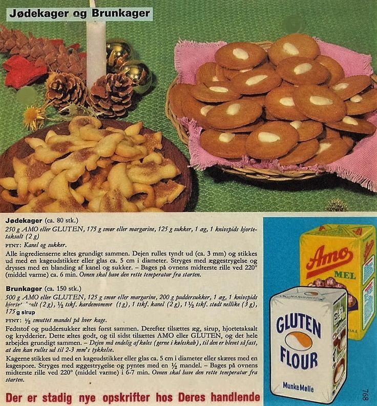 Jødekager og brunekager nr 768