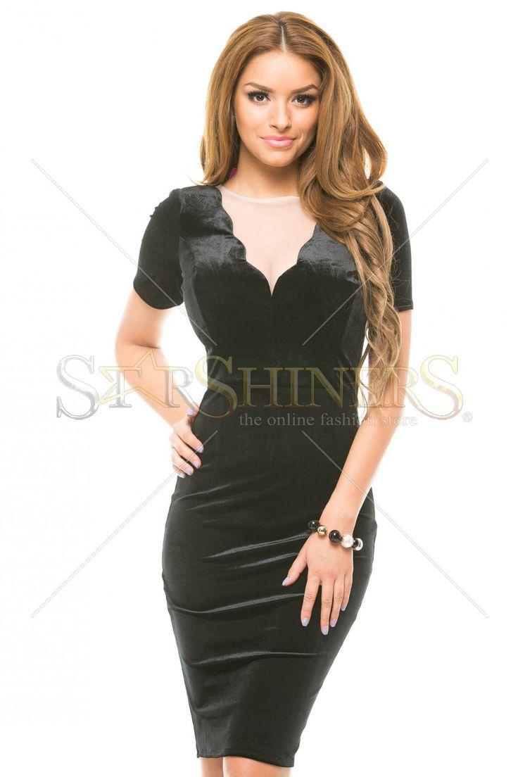 Artista Simple Piece Black Dress