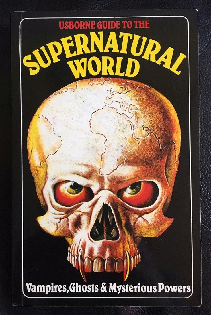 16 Oct: 'the Usborne Guide To The Supernatural World', 1979 One