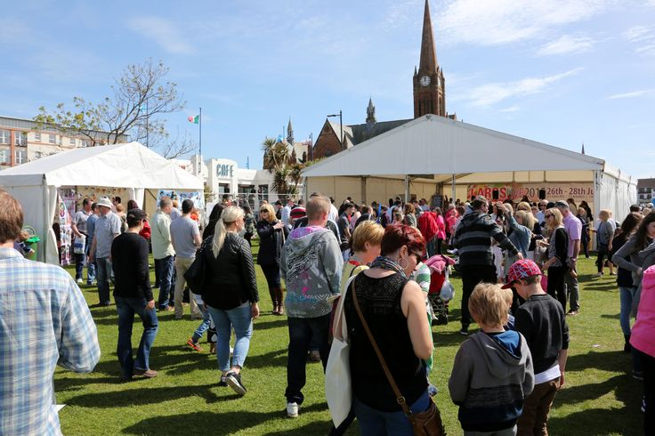 Visitors at Largs Food Fest 2015