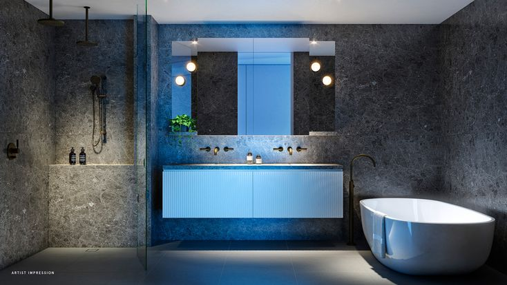 helm apartments melbourne off the plan bathroom design italian