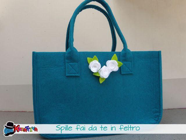 Come personalizzare una borsa con spille fai da te