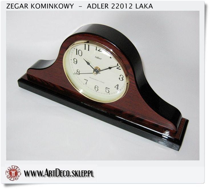Zegar Adler kominkowy kwarcowy tak zwany napoleon ArtDeco sklep