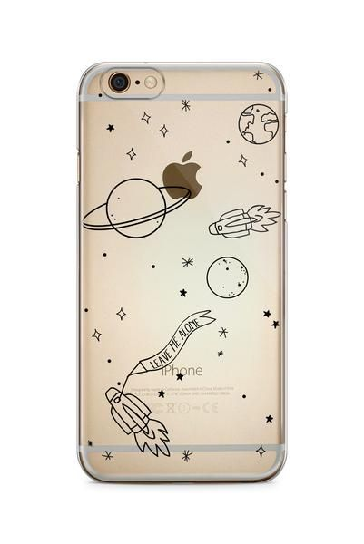 This cover takes your phone to another galaxy!   iPhone 5/5s -soft silicone, ALSO SUITABLE FOR IPHONE SE iPhone 6/6+ - soft silicone, transparent You'll be