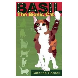 Basil the Bionic Cat for kids ages 8-12 years.  Read about the worlds only Organic-Bionic Cat.