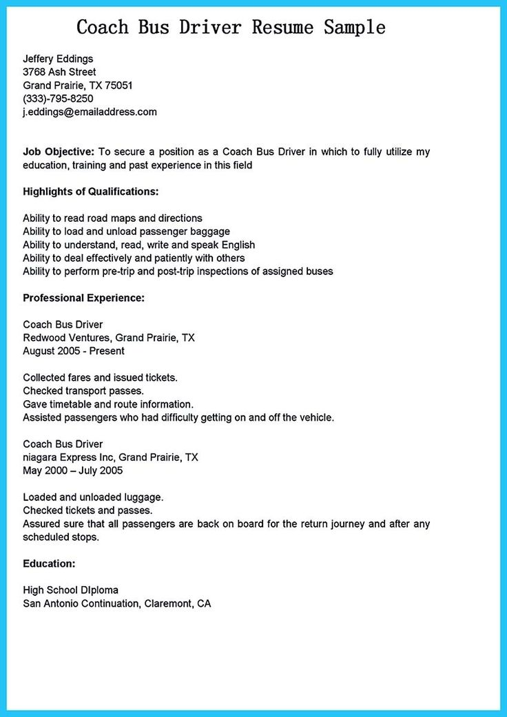 awesome Stunning Bus Driver Resume to Gain the Serious Bus Driver Job, Check more at http://snefci.org/stunning-bus-driver-resume-to-gain-the-serious-bus-driver-job