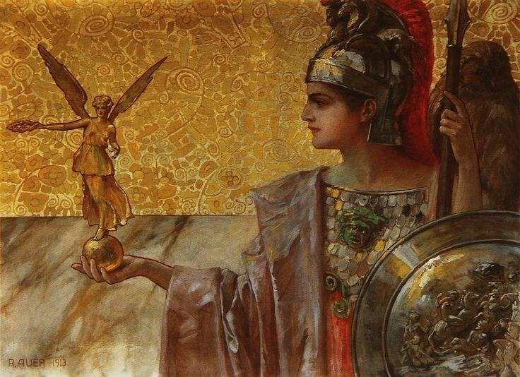 Климт Афина Паллада. 1898 г - Поиск в Google