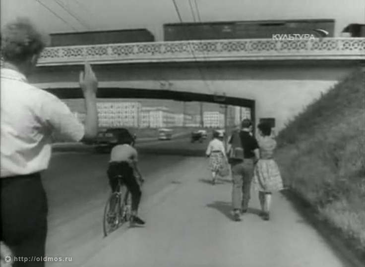 Фотография - Хорошёвское шоссе (проспект маршала Жукова) - Фотографии старой Москвы