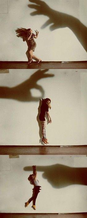 camera tricks with shadows