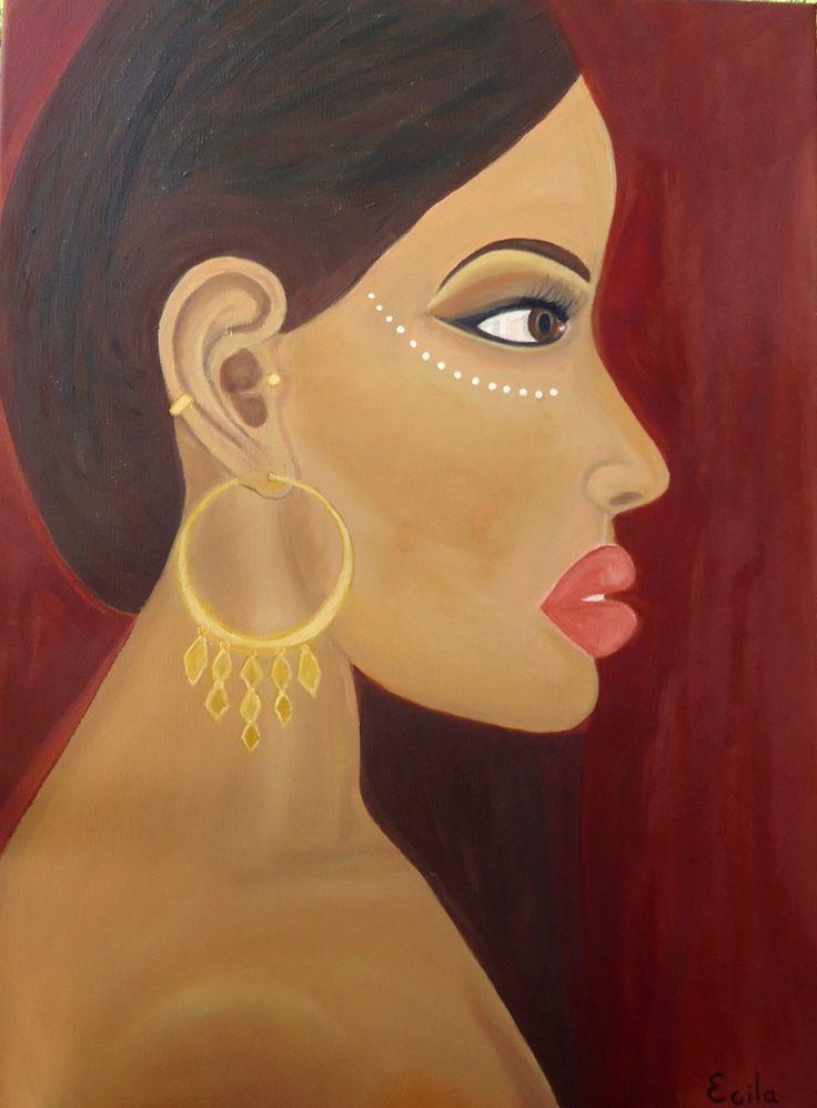 Moyo - Oil on canvas