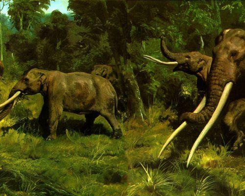 El florecimiento de los mamíferos vino otra época de los dinosaurios - Científicos
