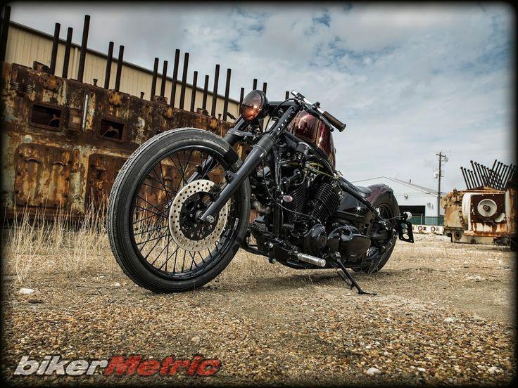 yamaha v-star 650 by tail end customs - bikerMetric