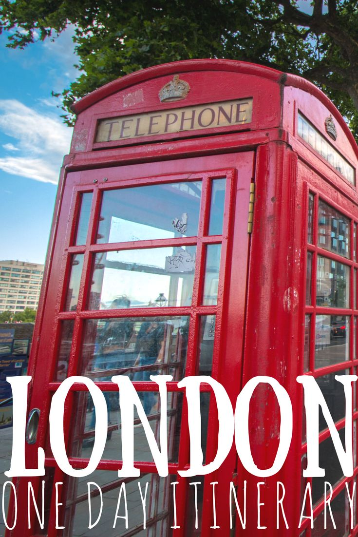 London in a day! One day itinerary for all travelers.
