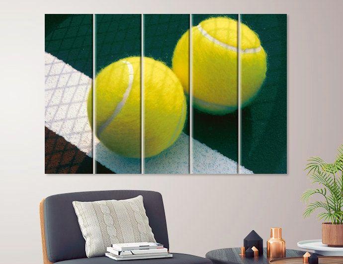 Tennis Wall Art Tennis Gift Tennis Print Tennis Canvas Art Etsy Sports Wall Art Canvas Art Canvas
