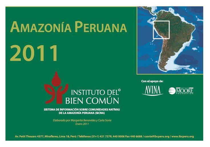 Amazonía peruana 2011