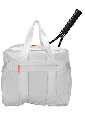 abec9575178 adidas Women s Stella McCartney Tennis Bag White    tennis    Pinterest    Tennis, Adidas and Stella mccartney tennis