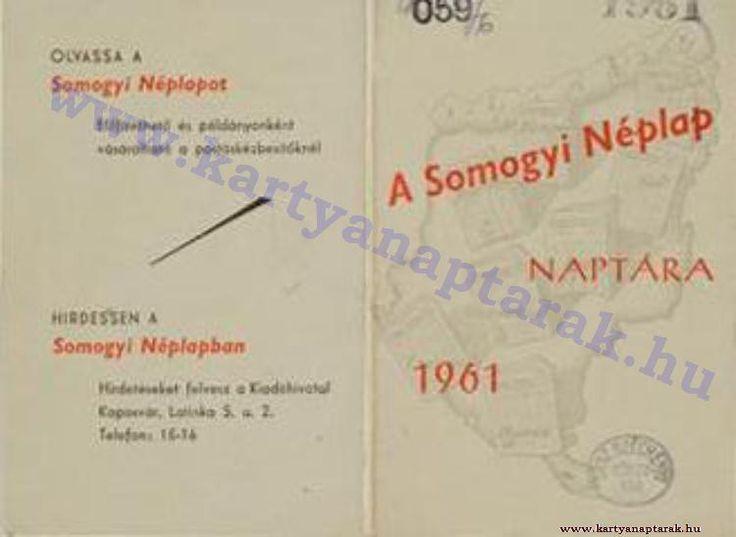 1961 - 1961_0083 - Régi magyar kártyanaptárak