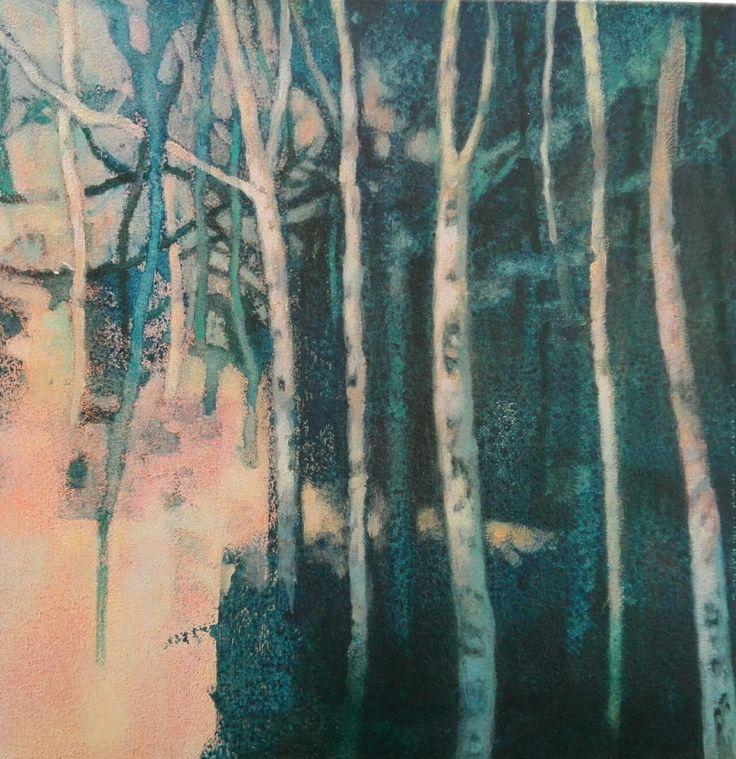 Hermoso cuadros de la serie meditación_1 de la artista Claudia Rojas http://familycenter.co/67-arte-cuadros-y-dibujosclaudia-roj… Tamaño: 30 x 30cm Técnica: Acrílico sobre lienzo