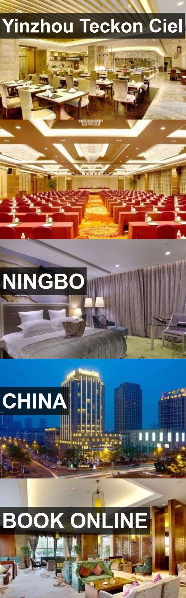 Hotel Yinzhou Teckon Ciel in Ningbo, China. For more information, photos, reviews and best prices please follow the link. #China #Ningbo #travel #vacation #hotel